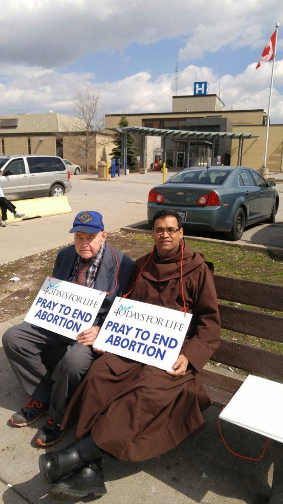 Parish Prays to Support Pro Life